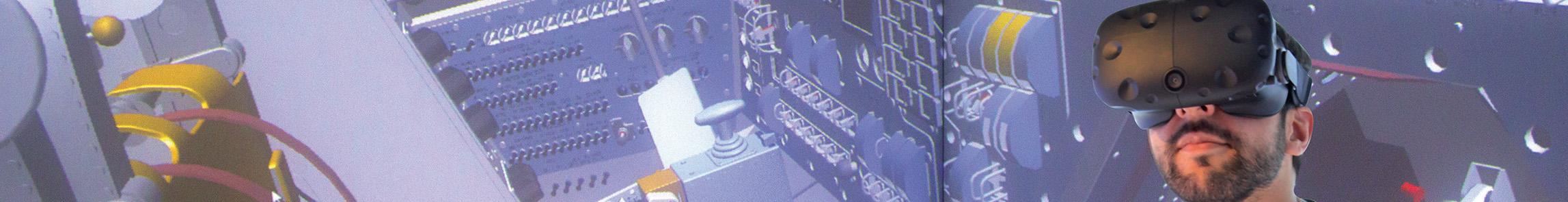 TechVizXL displayed in a HTC Vive
