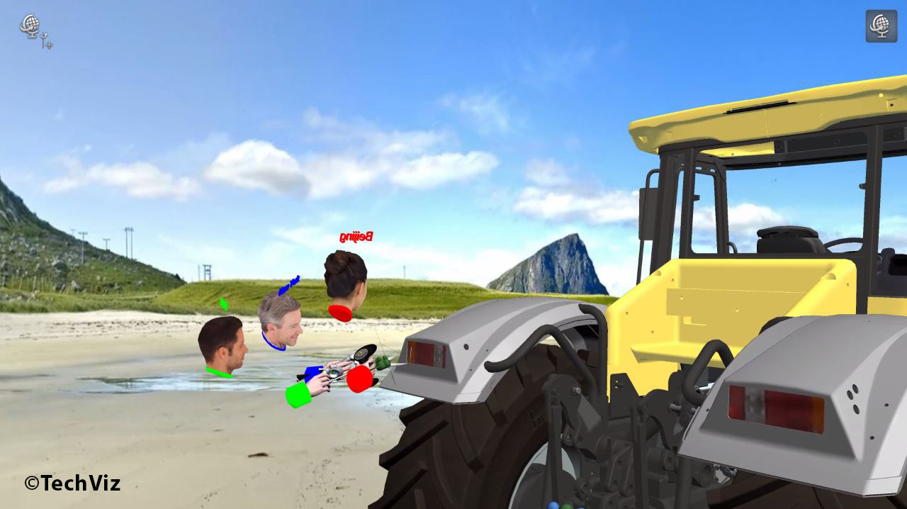 TechViz_VR Collaboration for professionals