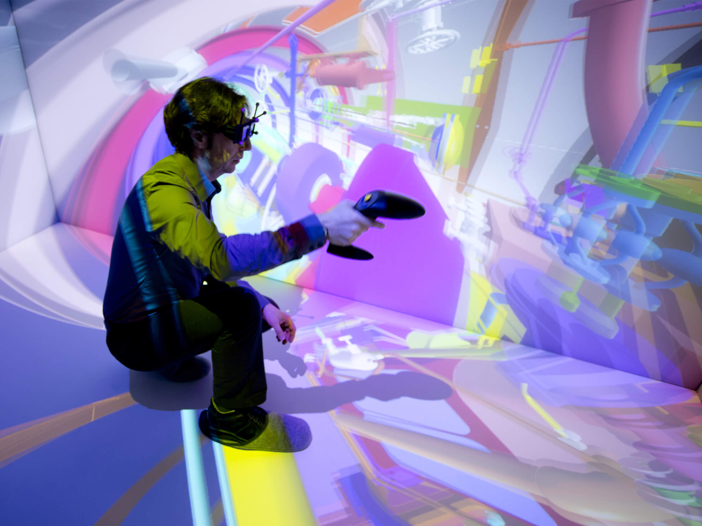 Visualize in VR complex data with TechViz VR software