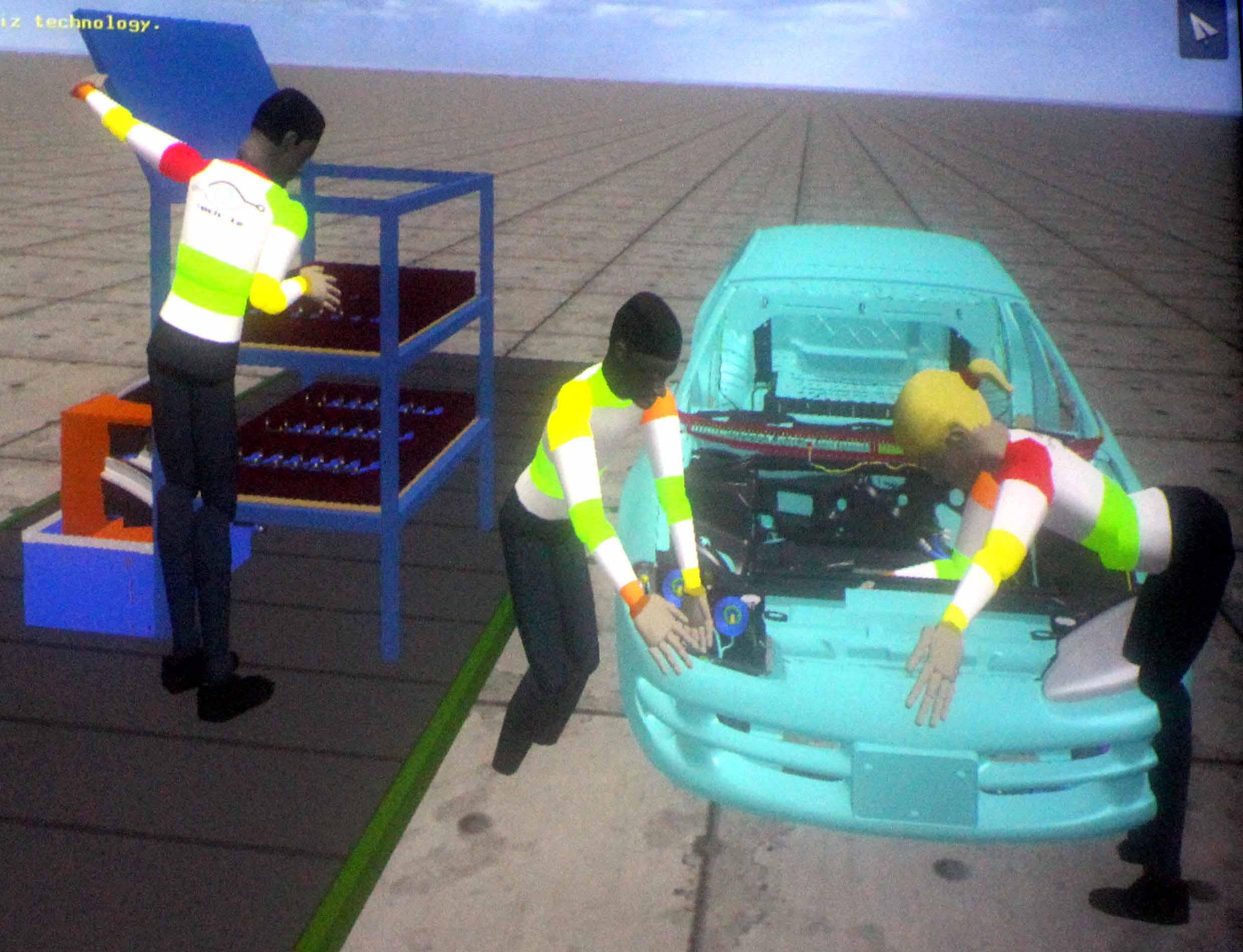 Virtual Manikin TechViz VR Software