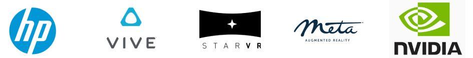 JPO casques_logos casques de réalité virtuelle et augmentée, TechViz