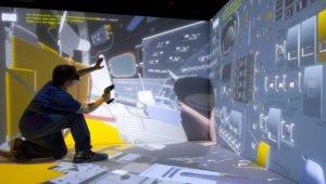 Cave_immersive room_cave vr_techviz virtual reality