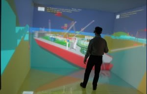 TechViz Shipbuilding - TechViz XL Virtual Reality Software