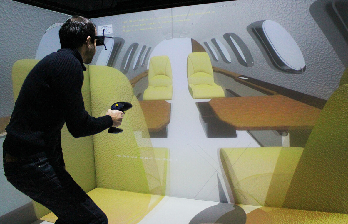 Video recording of a virtual reality session