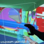 utilisation VR sur chaîne de production