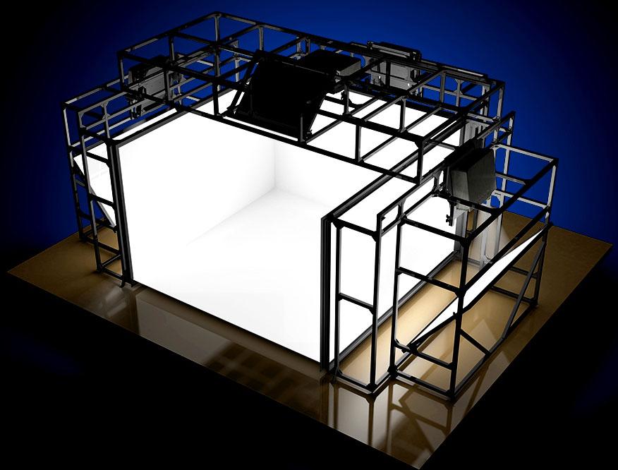 TechViz CAVE - VR Showroom